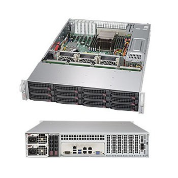 Серверная платформа Supermicro SSG-5028R-E1CR12L