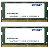 16Gb(2x8Gb) SO-DIMM DDR4 2133MHz Patriot (PSD416G2133SK)