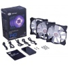 Cooler MasterFan Pro 140 Air Flow RGB (MFY-F4DC-083PC-R1),  140mm, 500-800rpm, 3шт