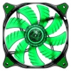 Cougar CFD140 Green LED 140mm, 1000rpm, 18dB