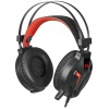 Гарнитура Redragon MEMECOLEOUS (75096) Black/Red
