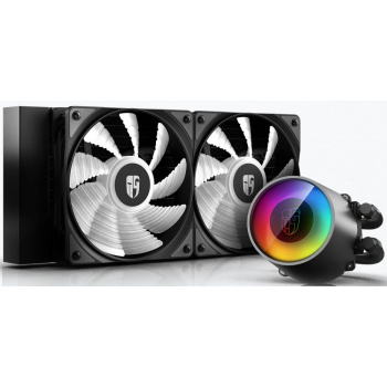 DeepCool CASTLE 240 RGB V2, Socket 115x/1366/20xx/AM/FM/TR4/SP3