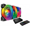 Cougar VORTEX RGB SPB 120 (CF-V12SET-SPBRGB), 120mm, 1500rpm, 26dB 3шт