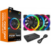 Cougar VORTEX RGB FCB 120 (CF-V12SET-FCBRGB), 120mm, 1500rpm, 26dB 3шт