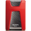 "1.0Tb ADATA HD650 2.5"" (AHD650-1TU31-CRD) USB 3.1 Red"
