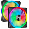Corsair iCUE QL140 RGB (CO-9050100-WW) 2шт 140mm, 550-1250rpm, 26dB